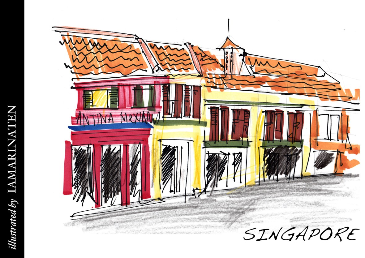 illustration 20140525singapore