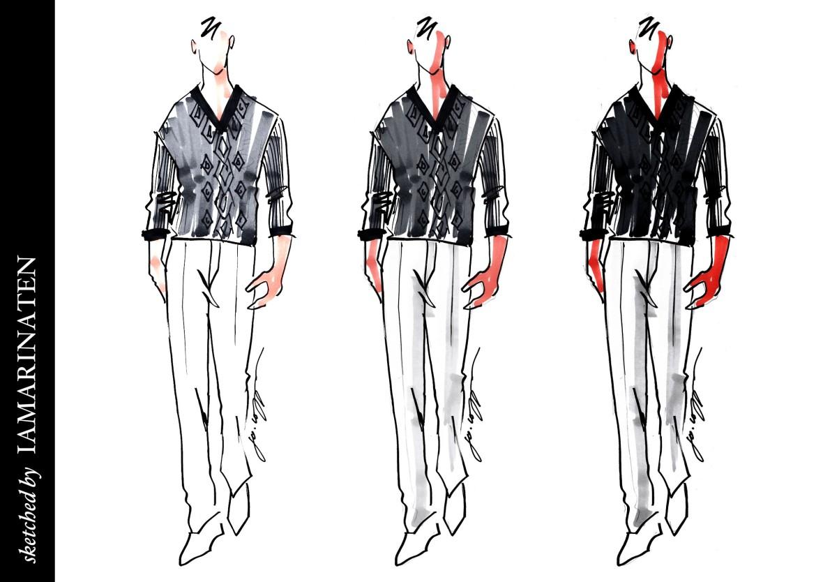 fashion illustration 20140607