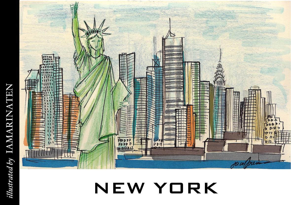 FORM(illustrated by IAMARINATEN)__newyork