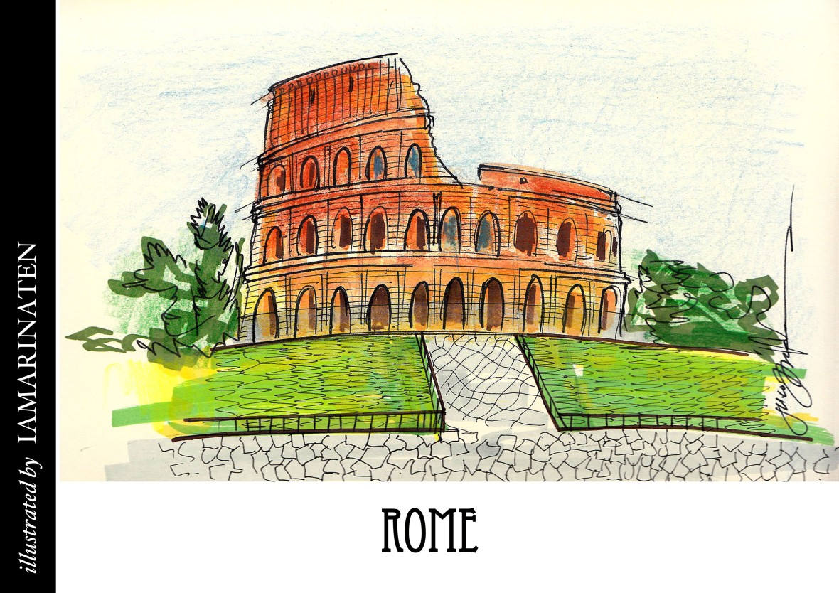 FORM(illustrated by IAMARINATEN)__rome