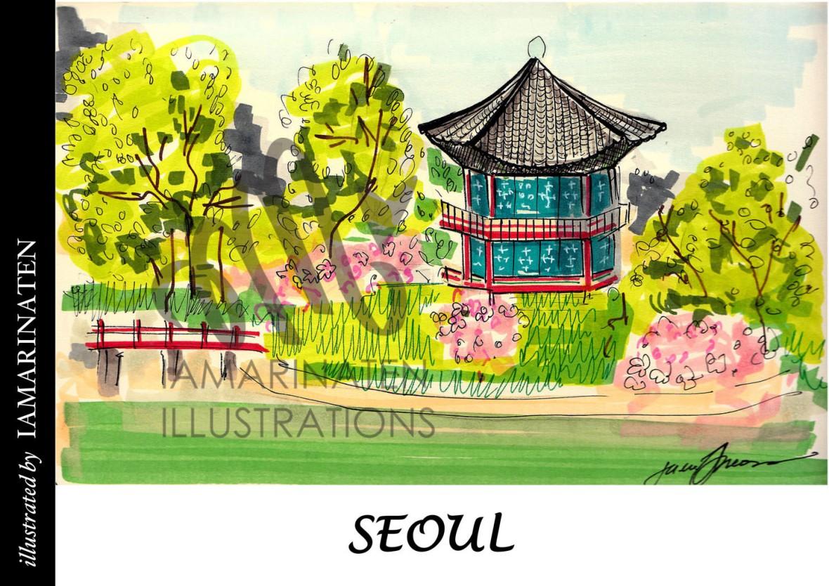 FORM(illustrated by IAMARINATEN)__seoul