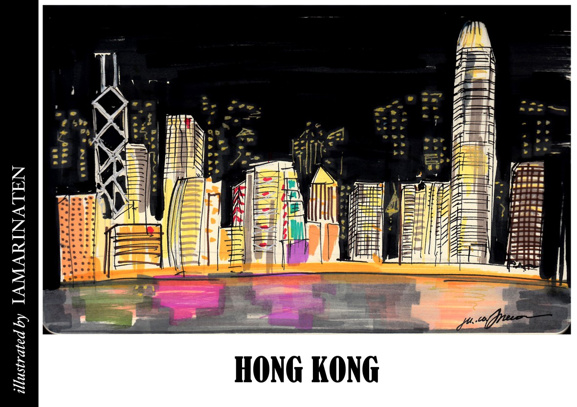 FORM(illustrated by IAMARINATEN)_HONG KONG